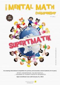 Mental Math Championship 2012/13